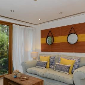 View Project Open Plan Living On A House Boat